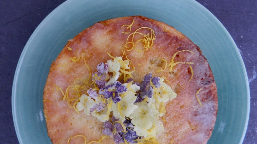 Easter lemon cake