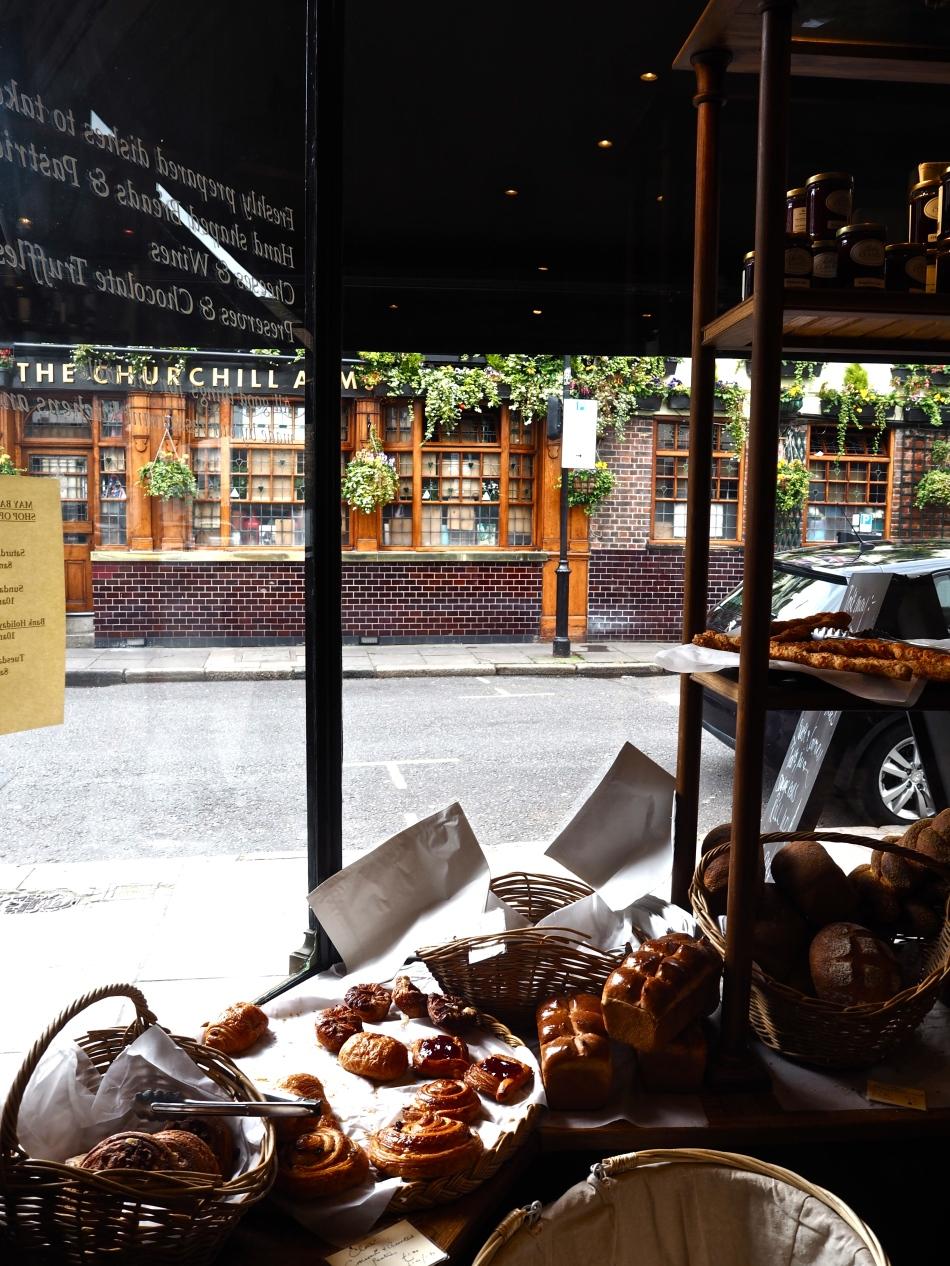 Sally Clarke's shop
