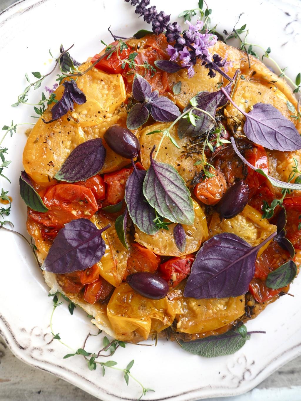 Heirloom Tomato Tarte Tatin
