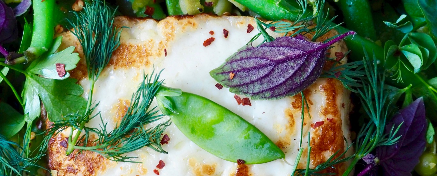 Halloumi & Green Bean Salad